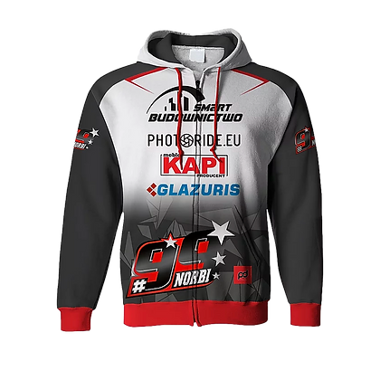 Norbi #99 sublimation hoodie