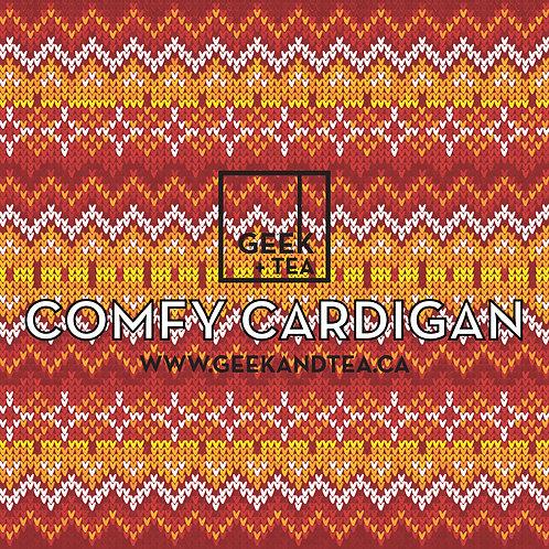Comfy Cardigan   Organic Loose Leaf Herbal Tea   Honeybush and Cinnamon
