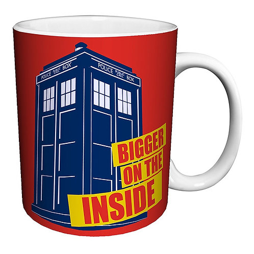 Doctor Who Bigger on the Inside mug