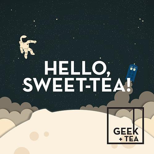Hello, Sweet-Tea! | Organic Black Loose Leaf Tea | Ancho Chili and Cacao