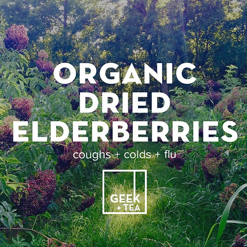 Elderberries | Organic Dried Herb | Sambucus Nigra