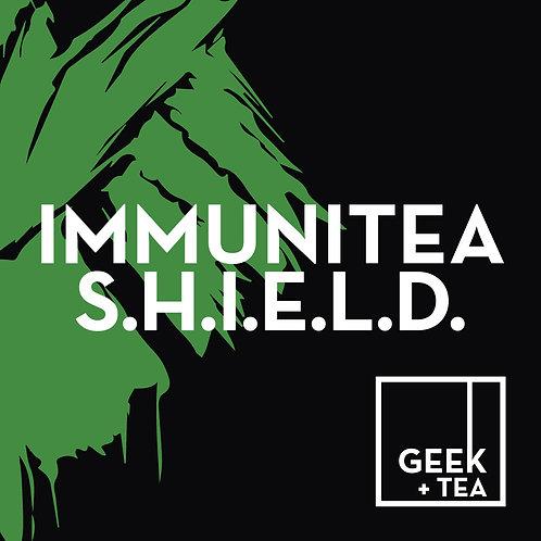 ImmuniTea S.H.I.E.L.D | Organic Wellness Loose Leaf Tea | Ginseng and Spice