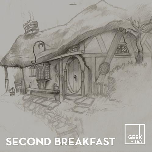 Second Breakfast | Organic Black Loose Leaf Tea | Orange Pekoe
