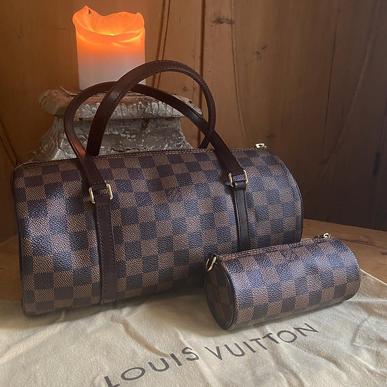 Louis Vuitton Papillon and matching mini Papillon