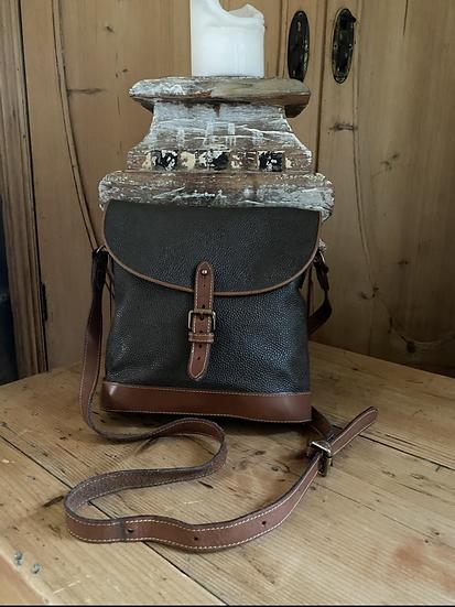 Vintage Mulberry Scotchgrain Binocular Crossbody Bag