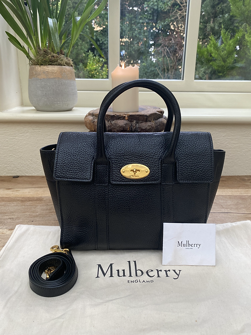 Mulberry Small Bayswater - Black