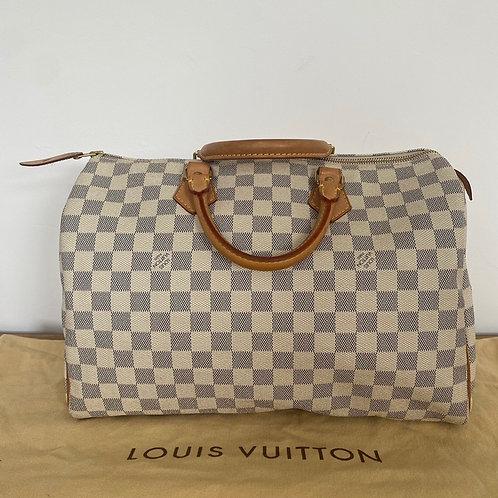 Louis Vuitton Speedy 35 - Damier Azur