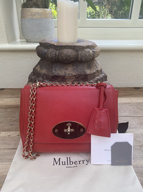 Mulberry Regular Lily - Red
