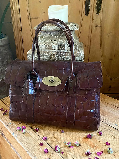 Vintage Mulberry Bayswater in Congo Leather - Chocolate
