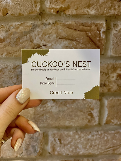 Cuckoo's Nest Gift Card