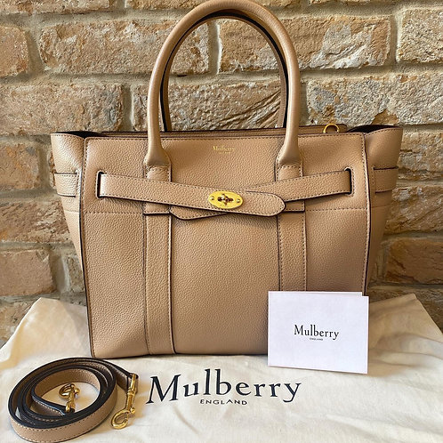 Mulberry Zipped Bayswater - Rosewater