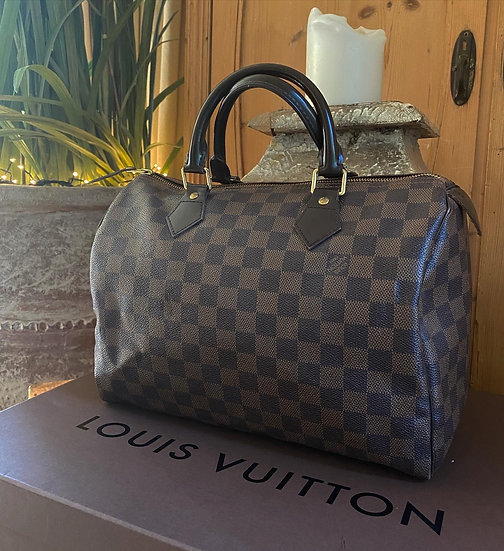 Louis Vuitton Speedy 30 - Damier Ebene