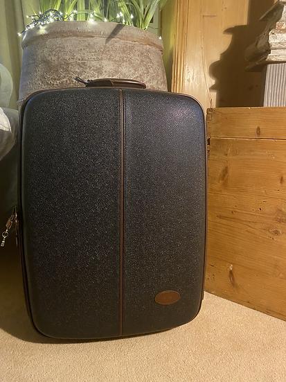 Mulberry Scotchgrain Suitcase - Black