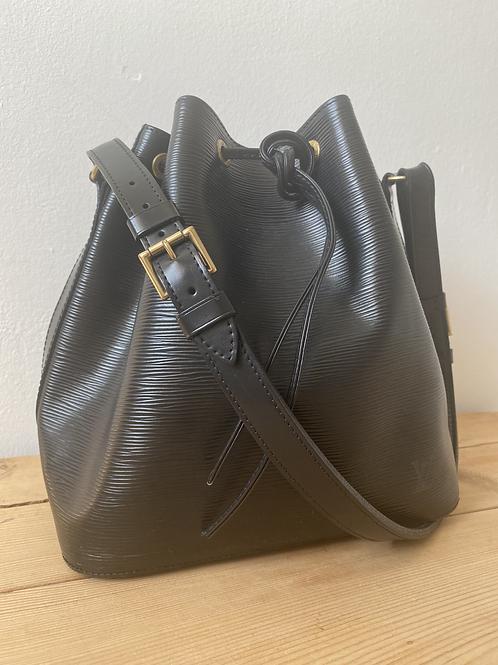 Louis Vuitton Petite Noe - Black Epi Leather