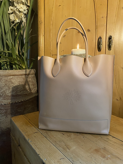 Mulberry Blossom Tote - Rosewater