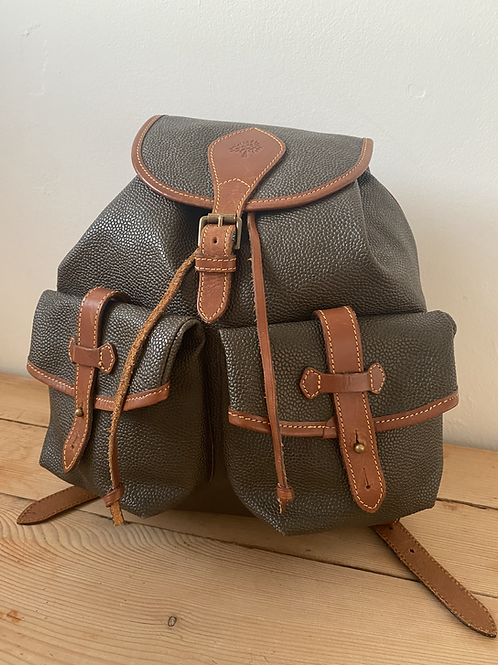 Mulberry Scotchgrain Backpack