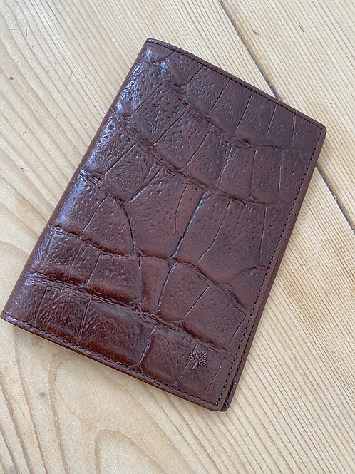 Mulberry Leather Passport Case