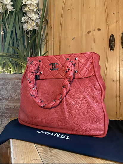 Chanel Lady Braid Large Tote