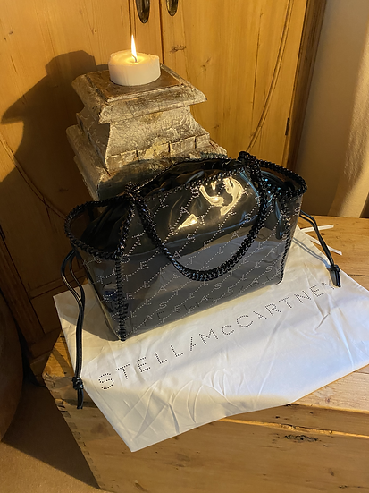 Stella Mccartney Falabella Transparent Eco Leather Tote Bag