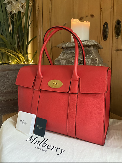 Mulberry Bayswater - Fiery Red
