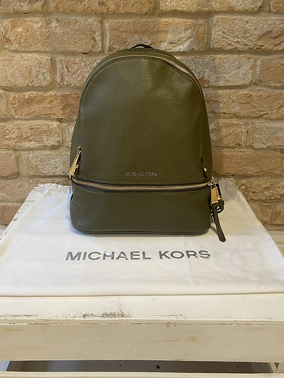 Michael Kors Rhea Backpack - Khaki
