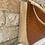 Thumbnail: Russell and Bromley Woven Leather Bag - Tan