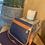Thumbnail: Vintage Mulberry Scotchgrain Shoulder Bag - Navy