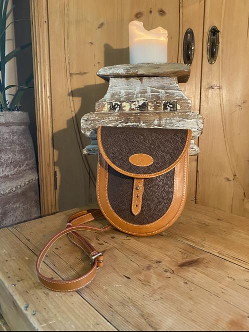 Vintage Mulberry Scotchgrain Saddle Crossbody