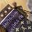 Thumbnail: Louis Vuitton Monogram Silk Map Bandeau - Voilet