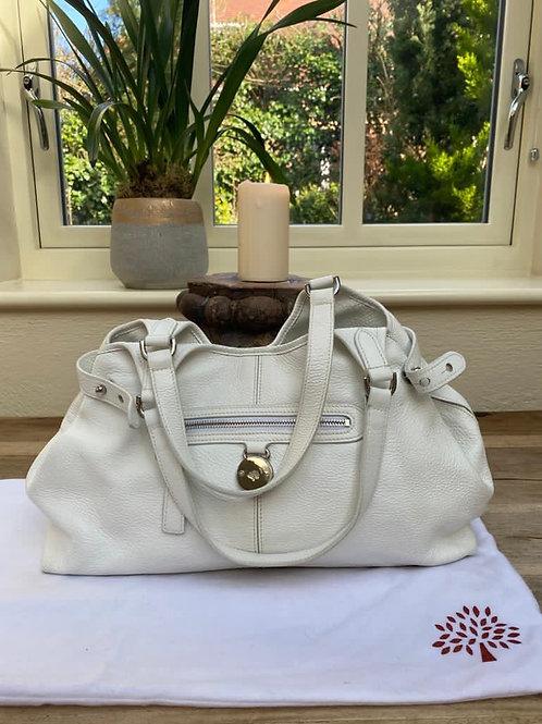 Mulberry Somerset White Bag