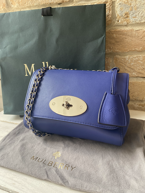 Mulberry Regular Lily - Indigo Blue Nappa Leather