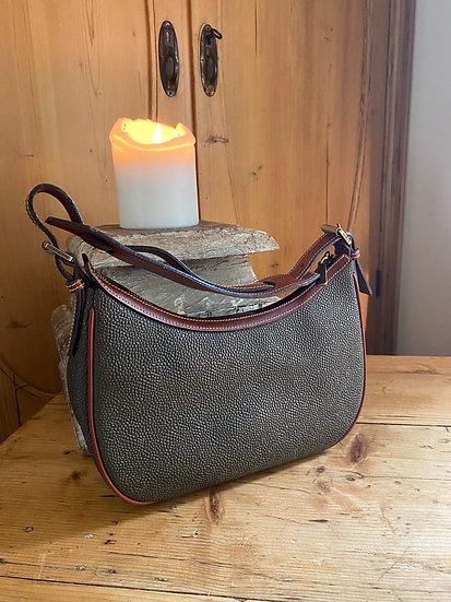 Vintage Mulberry Scotchgrain Geneva Bag