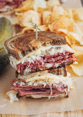 Reuben Reuben Sandwich