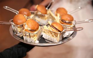 Burger Sliders & Fries