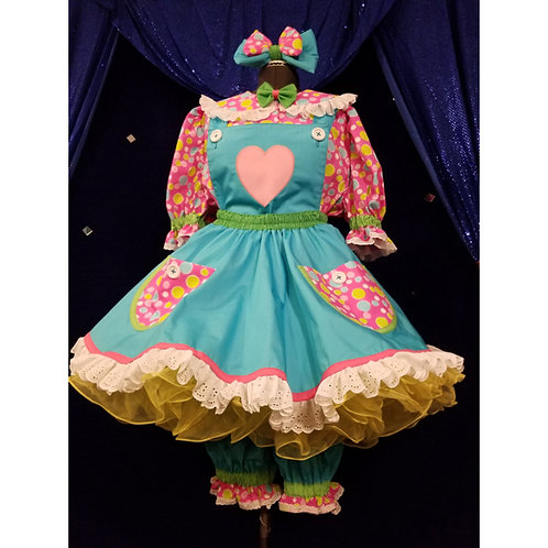 Sweet Swap Set 5 piece Girl Clown Outfit