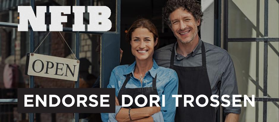 NFIB PAC Endorses Dori Trossen Over Representative Kristin Bahner