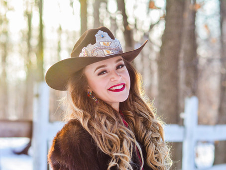 Announcing Special Guest - Miss Rodeo Minnesota, Sam Sansevere