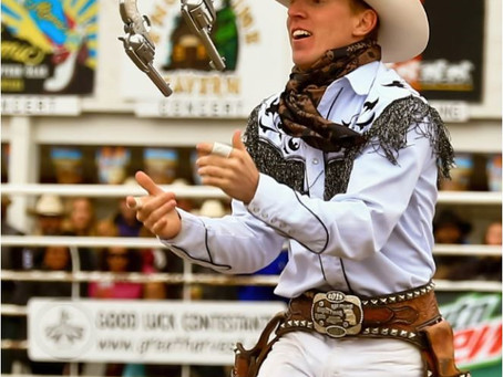 Trick Roping, Gun Spinning & Whip Cracking is coming to the Buffalo PRCA Championship Rodeo