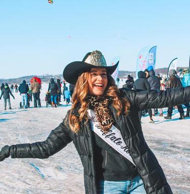 Miss Rodeo Buffalo at Kites on Ice