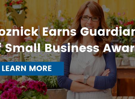 State Representative Jon Koznick Earns Guardian of Small Business Award