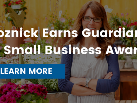 State Representative Jon Koznick Earns Guardian of Small Business Award