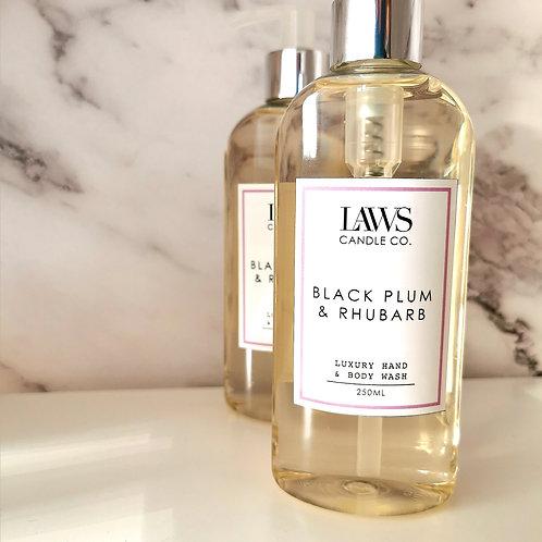 Black Plum & Rhubarb Hand & Bodywash