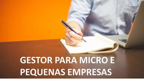 Gestor para Micro e Pequenas Empresas