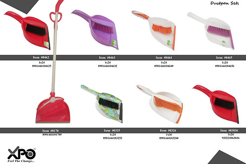 DUST PAN WITH LONG BRUSH 0170