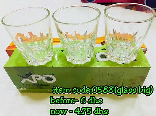 XPO 3PCE GLASS - 0588 - XPO0588