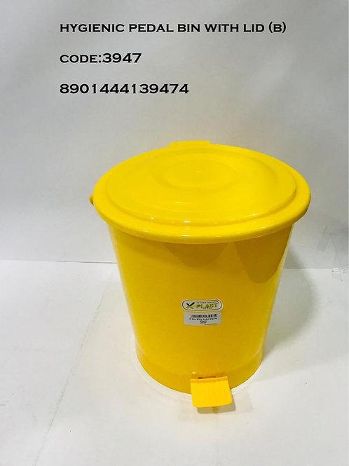 X PLAST H BIN W PEDAL BIG PL 3947