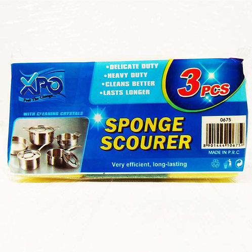 XPO SPONGE 3PCS POUCH PACK - XPO0675