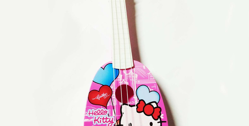 GY050609 14-INCH CAR  MOBILIZATION / KITTY CAT  GUITAR TWO MIXED