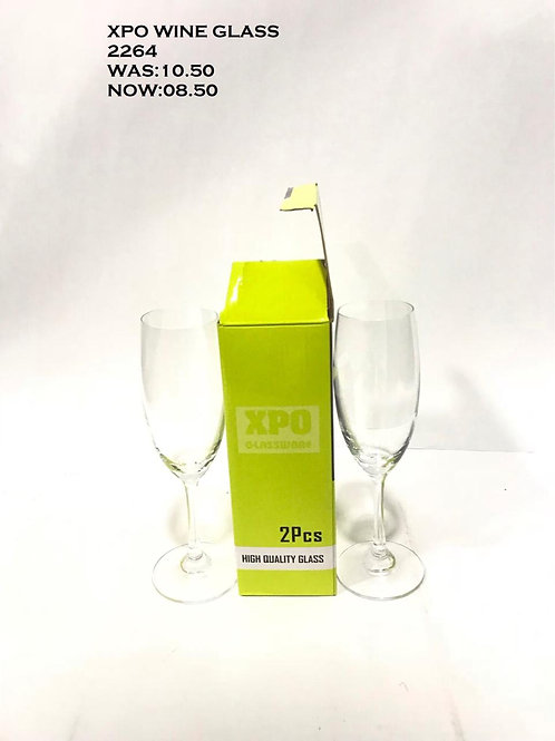 XPO WINE GLASS 2 PCS-2264 - XPO2264