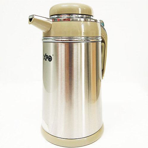XPO STAINLESS GLASS LINLER COFFE POT 1.3 LTR 1555